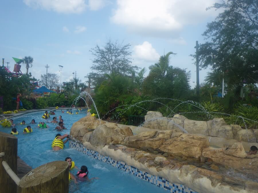 Enjoying a water park may have to wait until later in the year
