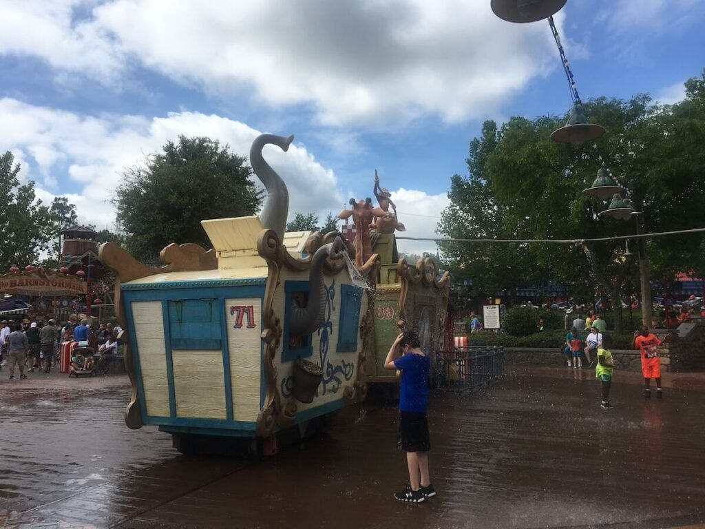 practical advice for visitong Disney World with young children