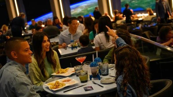 Bitesize Orlando September 2021 Space 220 Restaurant at EPCOT finally opens to paying guests
